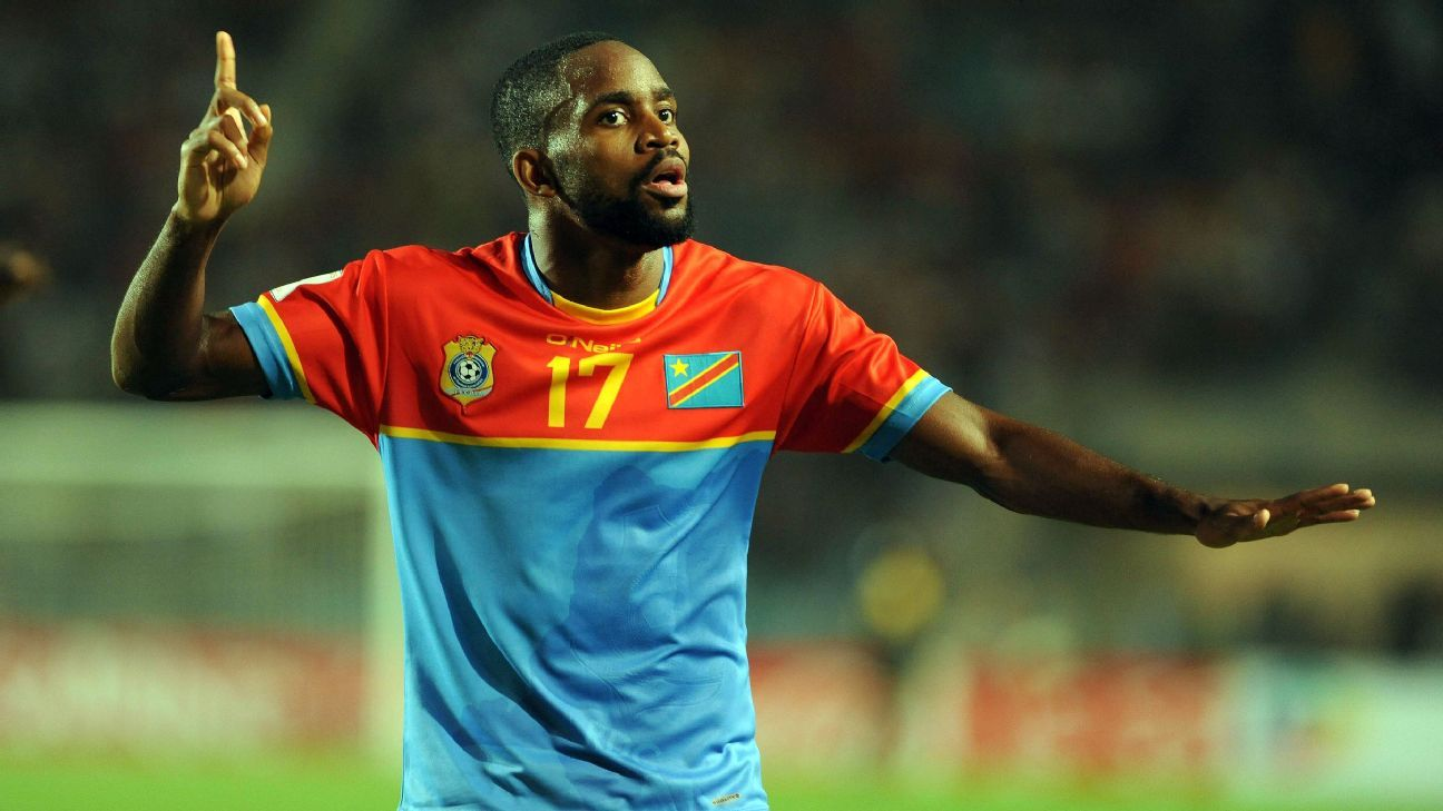 Cedric Bakambu of DR Congo