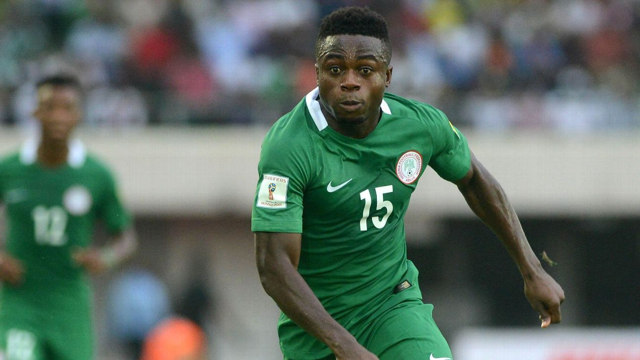 Moses Simon of Nigeria