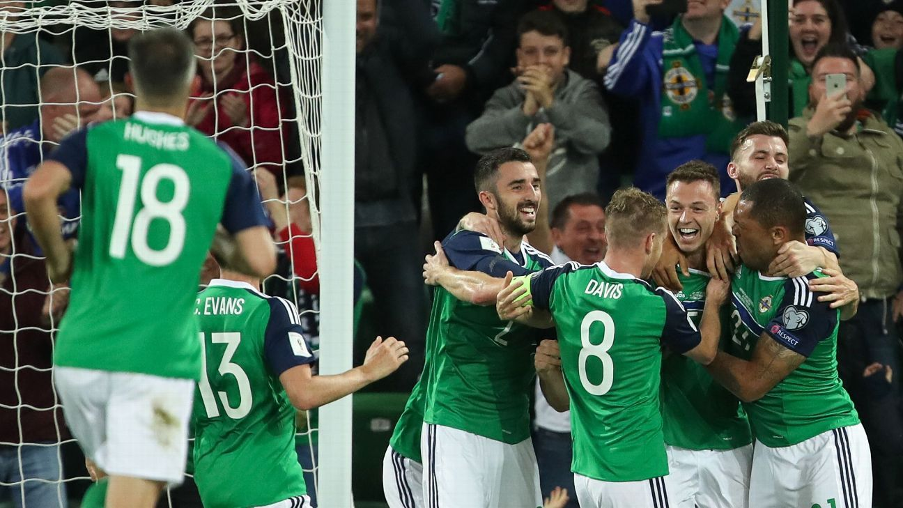 Northern Ireland had too much for Czech Republic.
