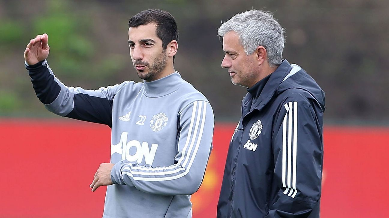 Life has not gone to plan so far for Henrikh Mkhitaryan at Man United.