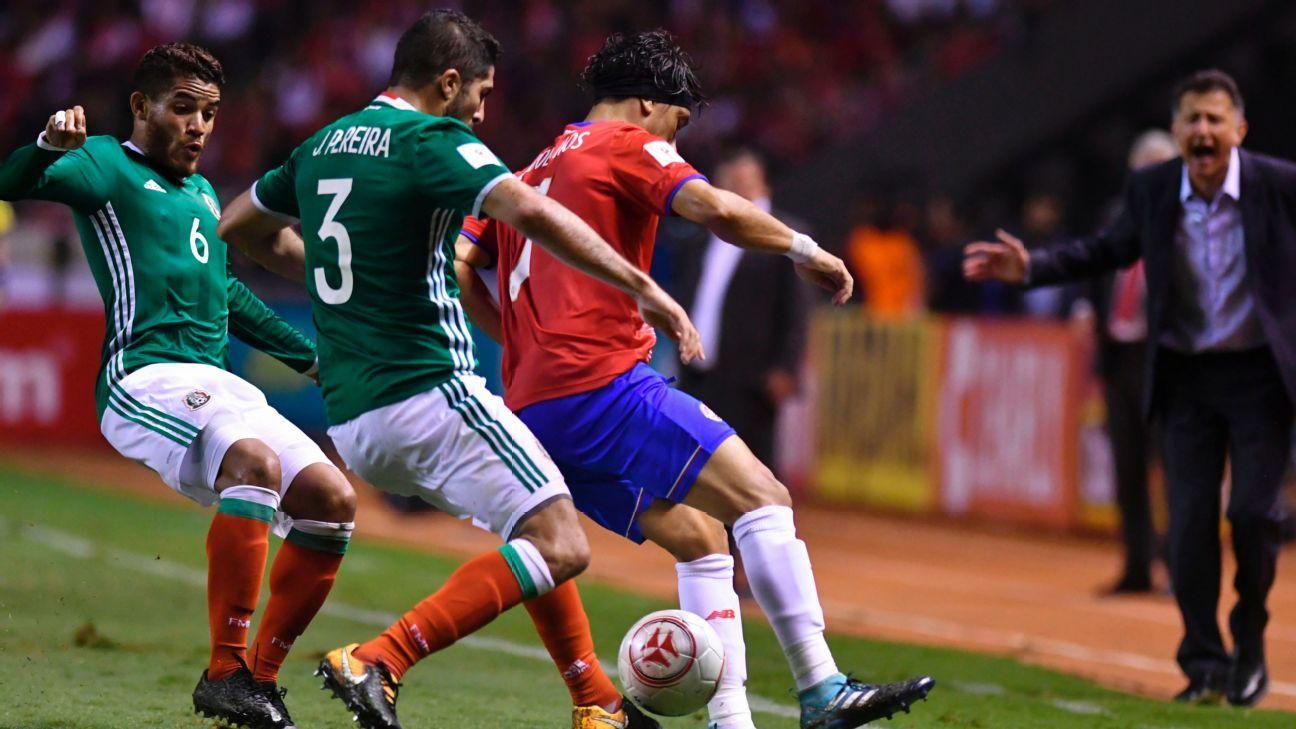 J Dos Santos vs Costa Rica 170905