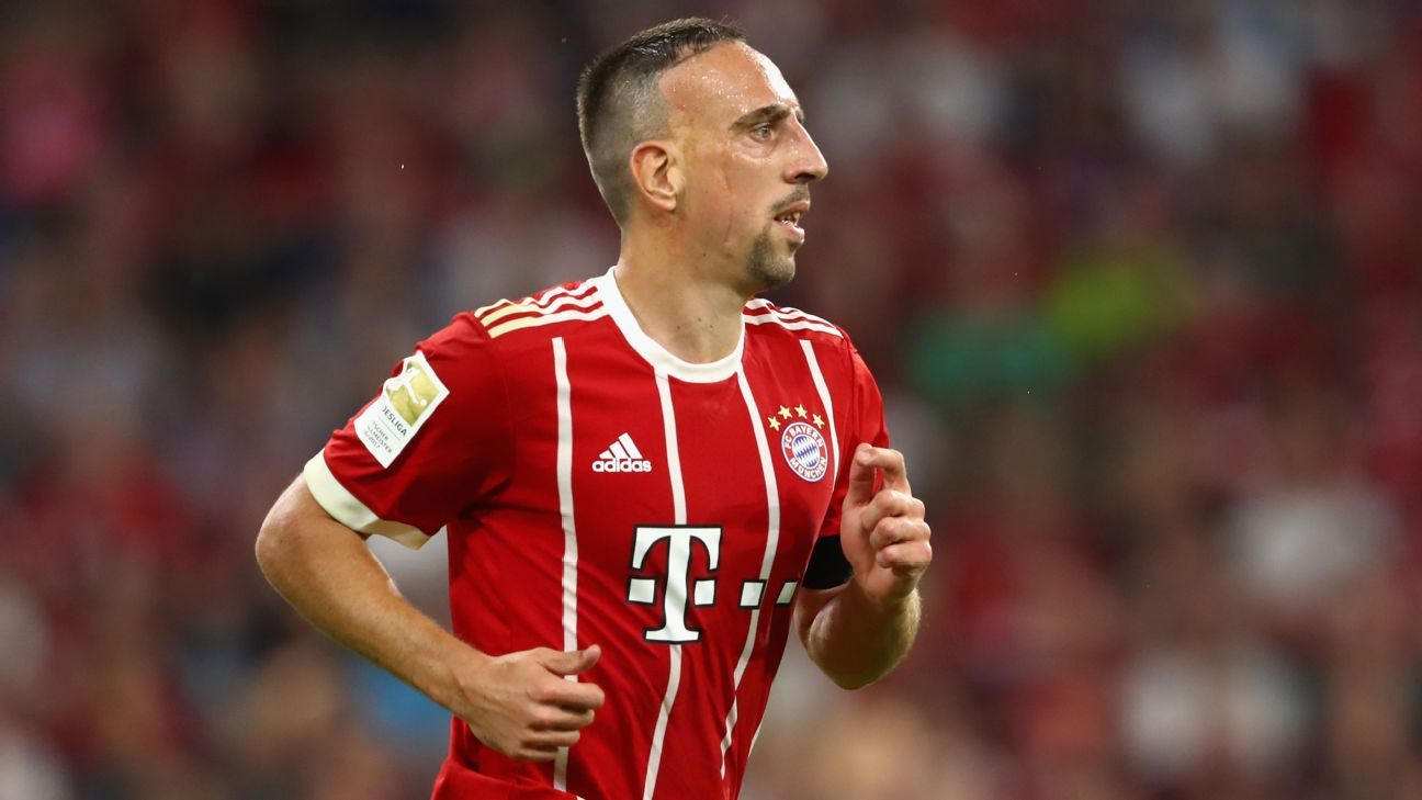 Franck Ribery hails special relationship with Bayern Munich boss