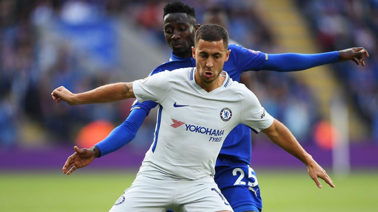 Eden Hazard v Leicester 20170910