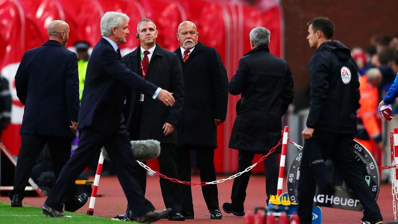 Hughes Mourinho handshake 170910
