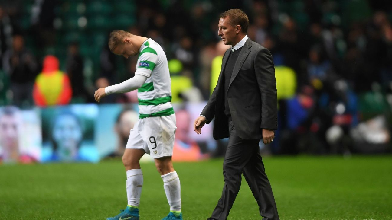 Celtic Rodgers woe vs PSG 170912