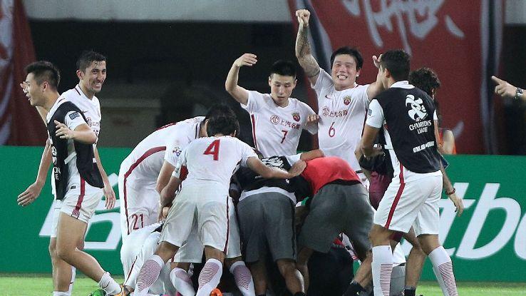 Shanghai SIPG celeb AFC CL 170912