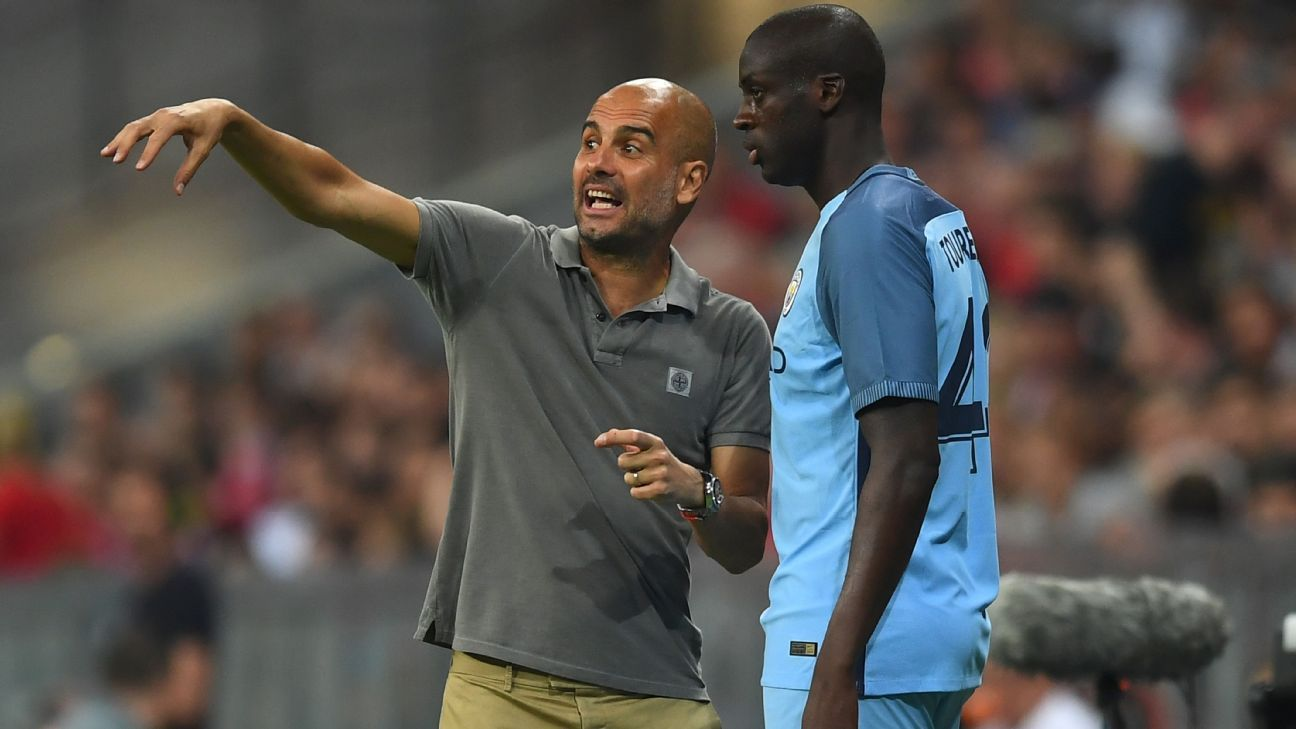 Pep Guardiola & Yaya Toure