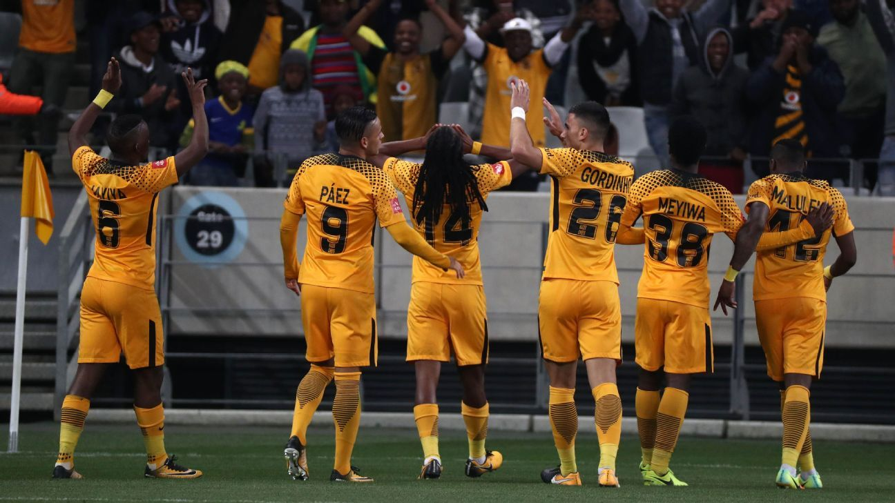 Kaizer Chiefs celebrate