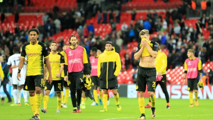 Borussia Dortmund's Champions League campaign fell flat 12 months ago.