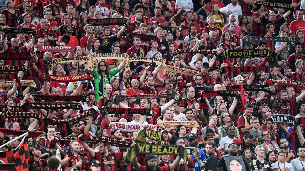 Josef Martinez's hat trick helps Atlanta salvage draw in front of record crowd
