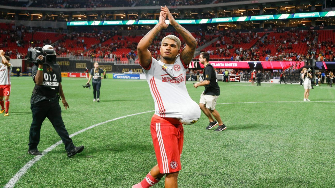 Atlanta United's Josef Martinez brings season tally to 16 goals in 14 games