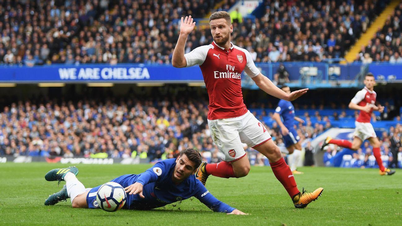 8091ea7f68e ... Injured Shkodran Mustafi set to miss Arsenal s trip to Watford –  reports ...