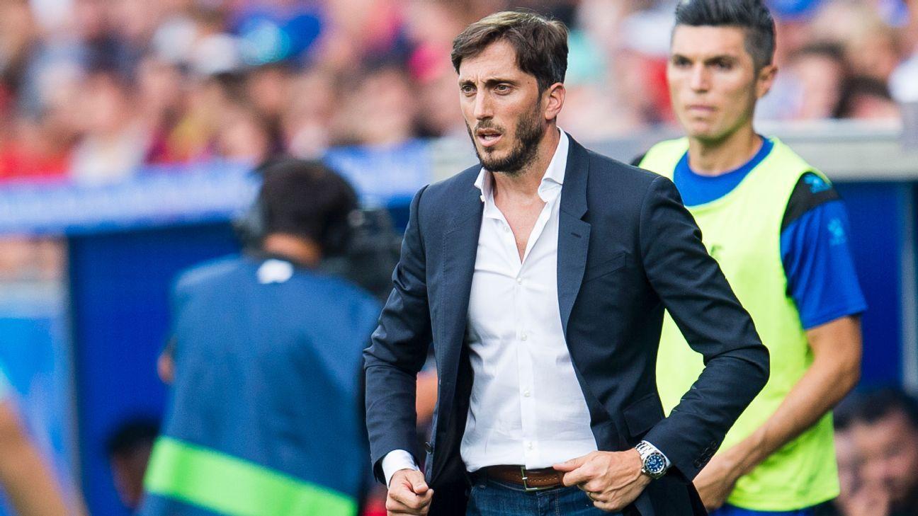 Zubeldia Alaves sacked