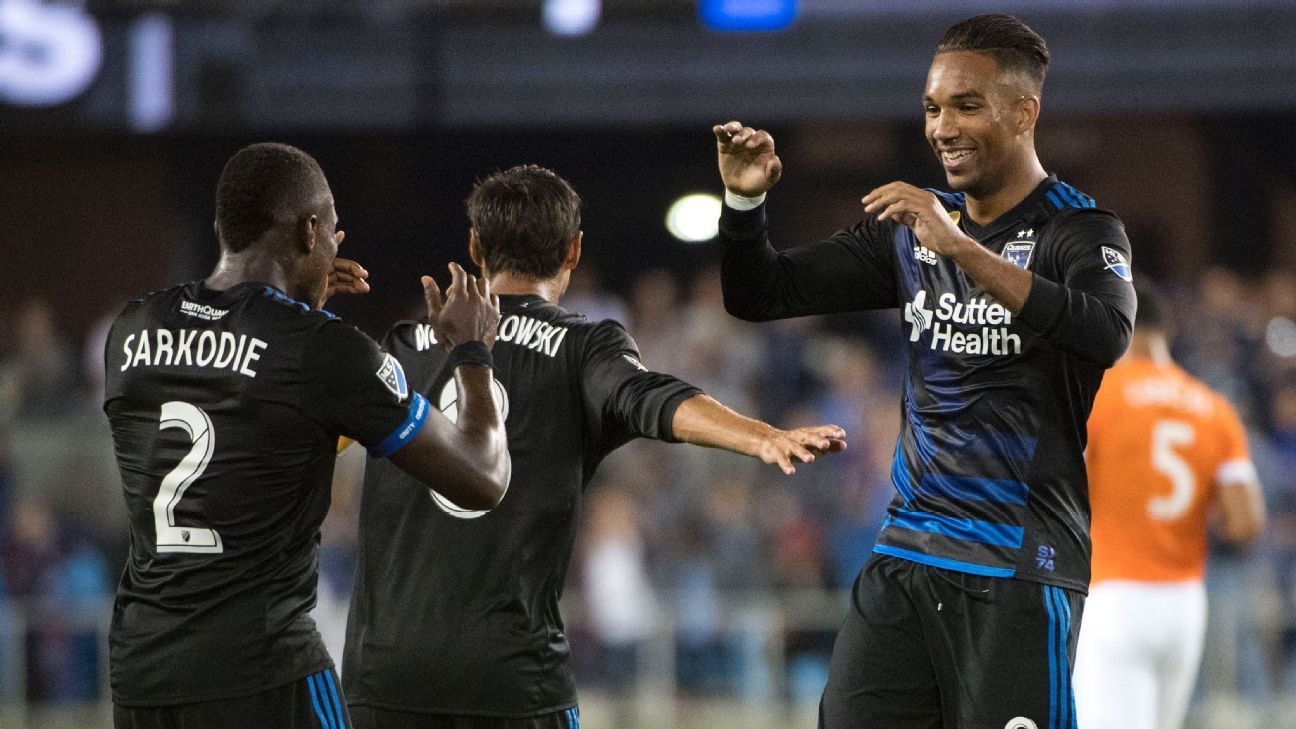 Quakes are big movers in MLS Power Rankings, while N.E. Revolution fall
