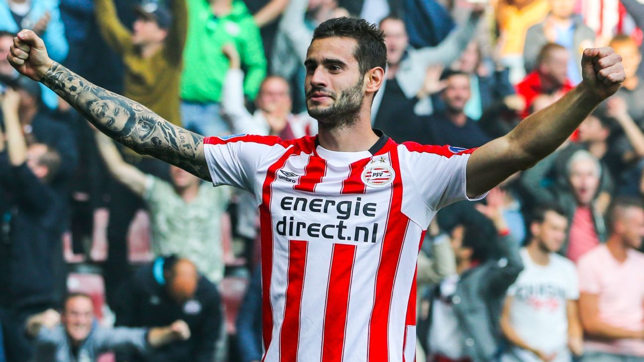 Gaston Pereiro of PSV