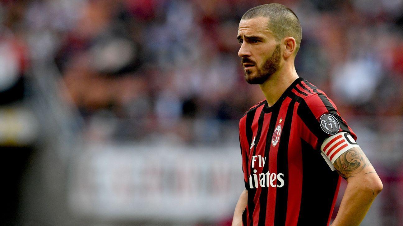 AC Milan's Leonardo Bonucci