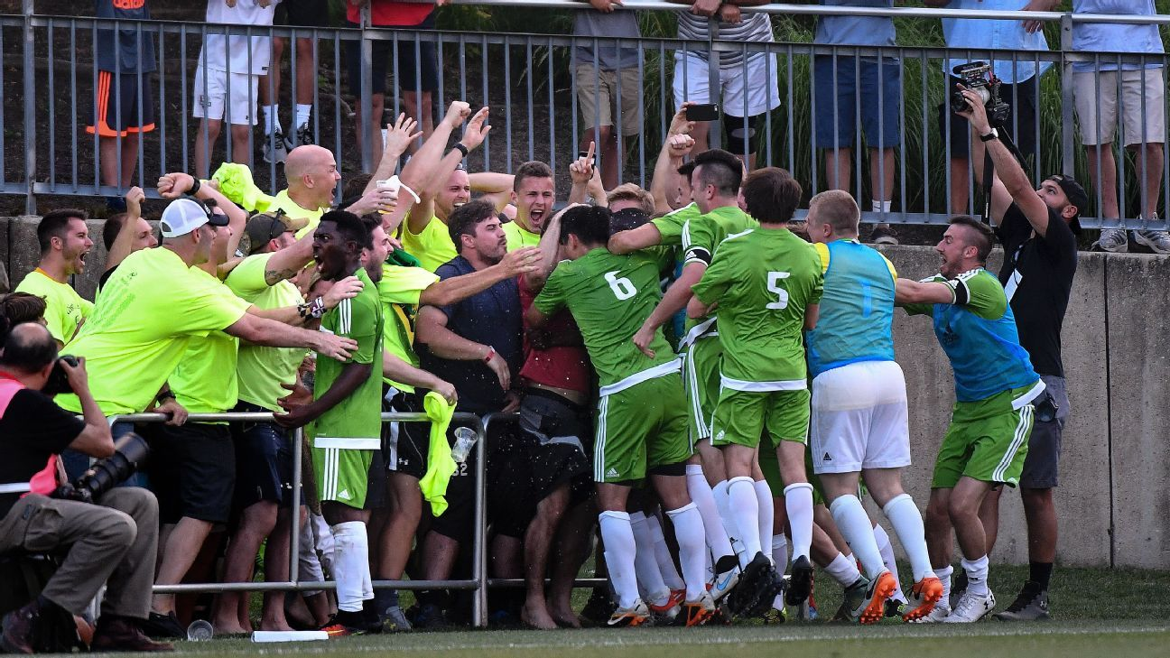 After brush with greatness in US Open Cup, Christos FC just wants to have fun