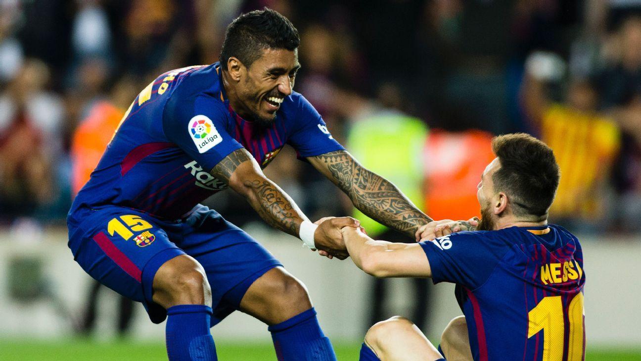 Paulinho Messi celeb vs Eibar 170919