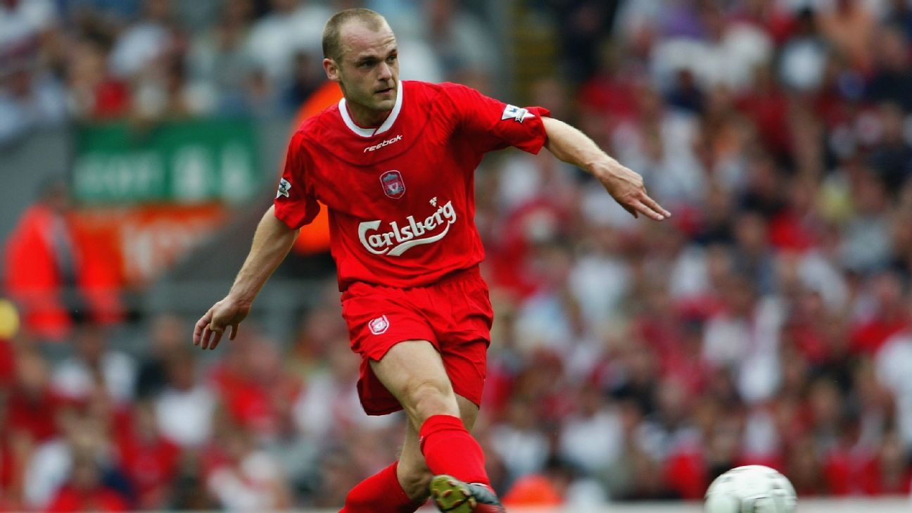 Liverpool midfielder Danny Murphy in 2003