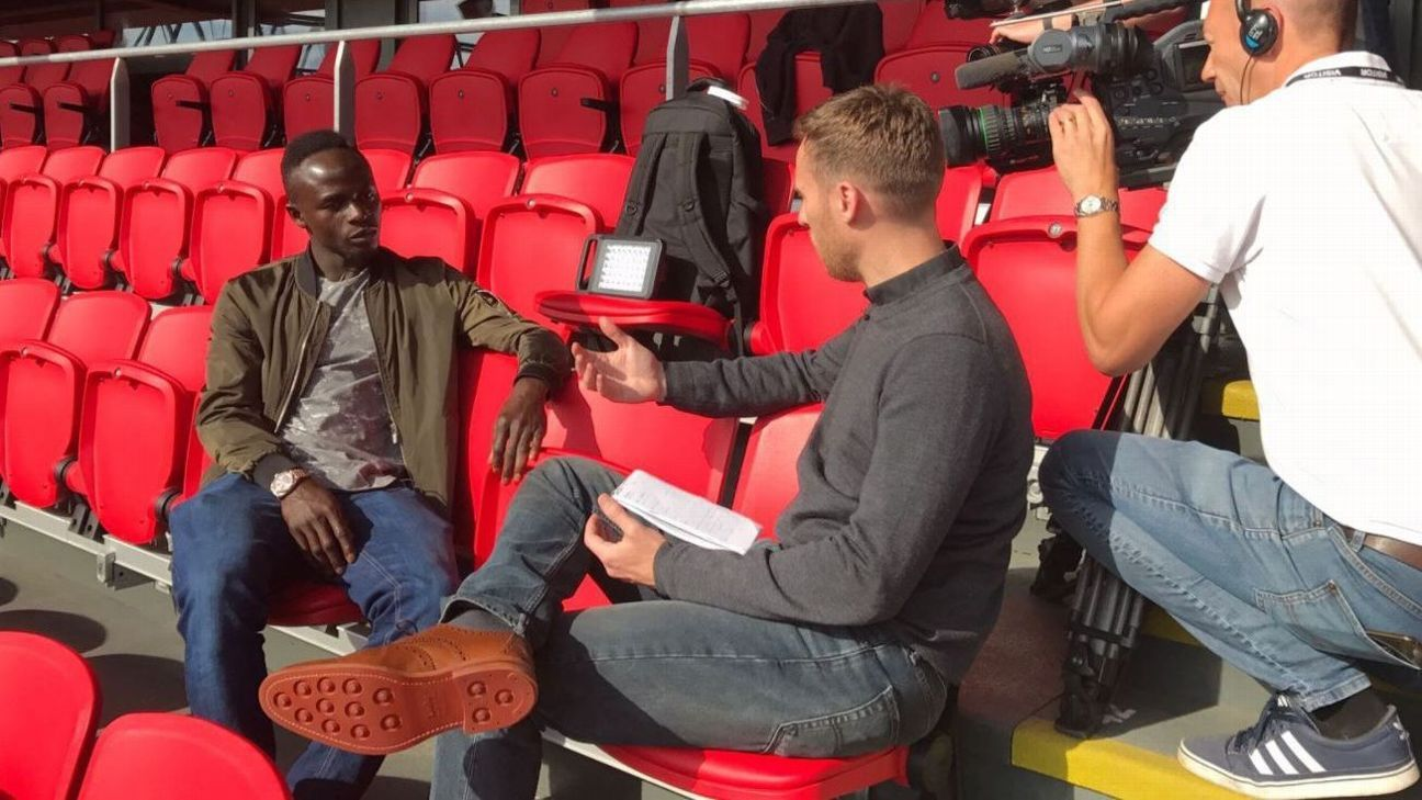 Mark Ogden chat to Liverpool's Sadio Mane