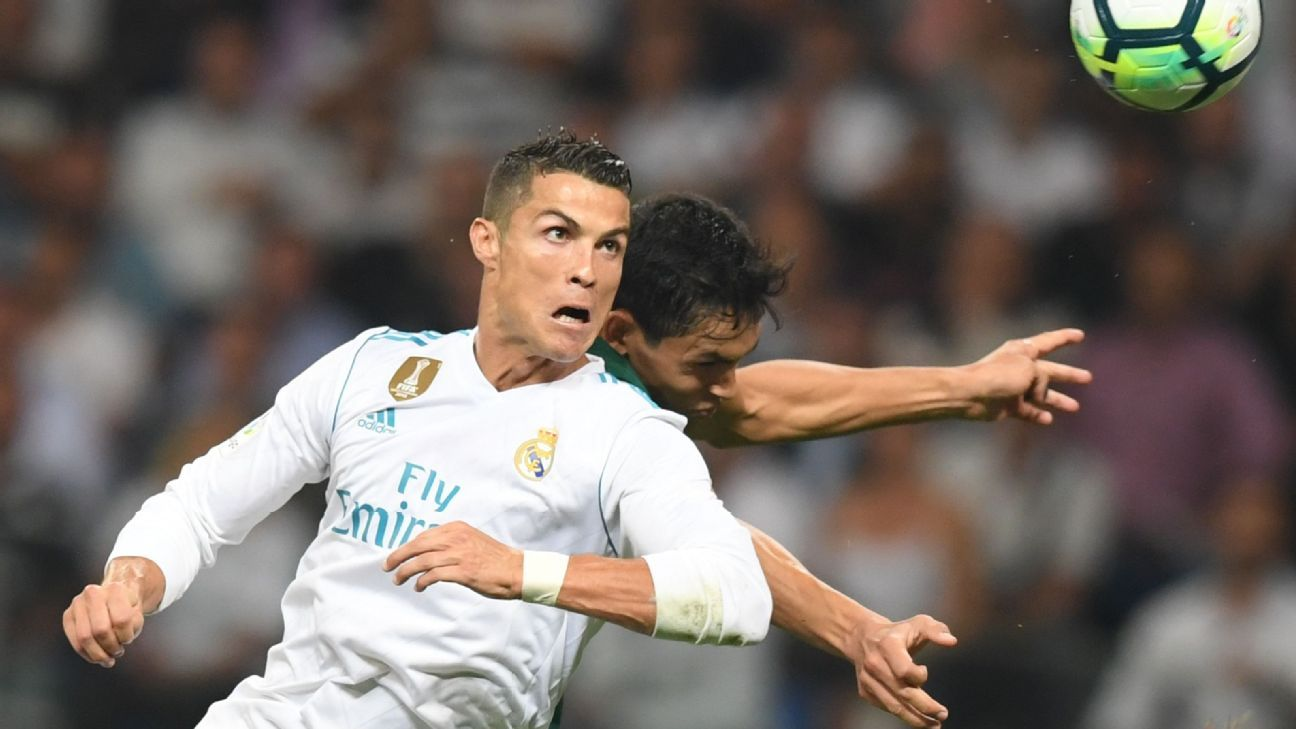 Cristiano Ronaldo was frustrated in his return from a five-match ban.