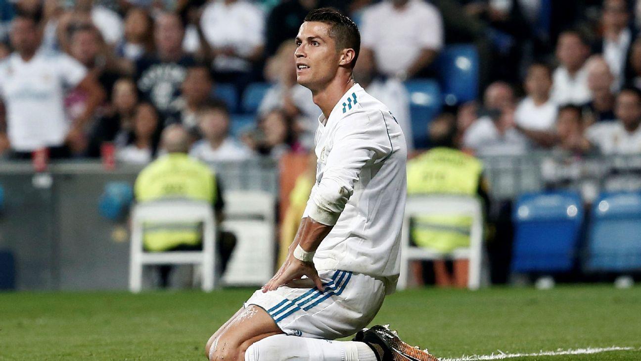 Ronaldo pouts vs Betis 170920