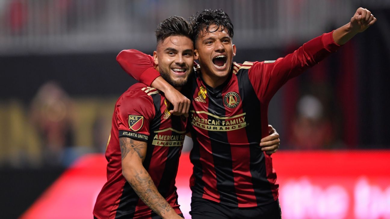 Atlanta United celeb vs LA Galaxy 170920