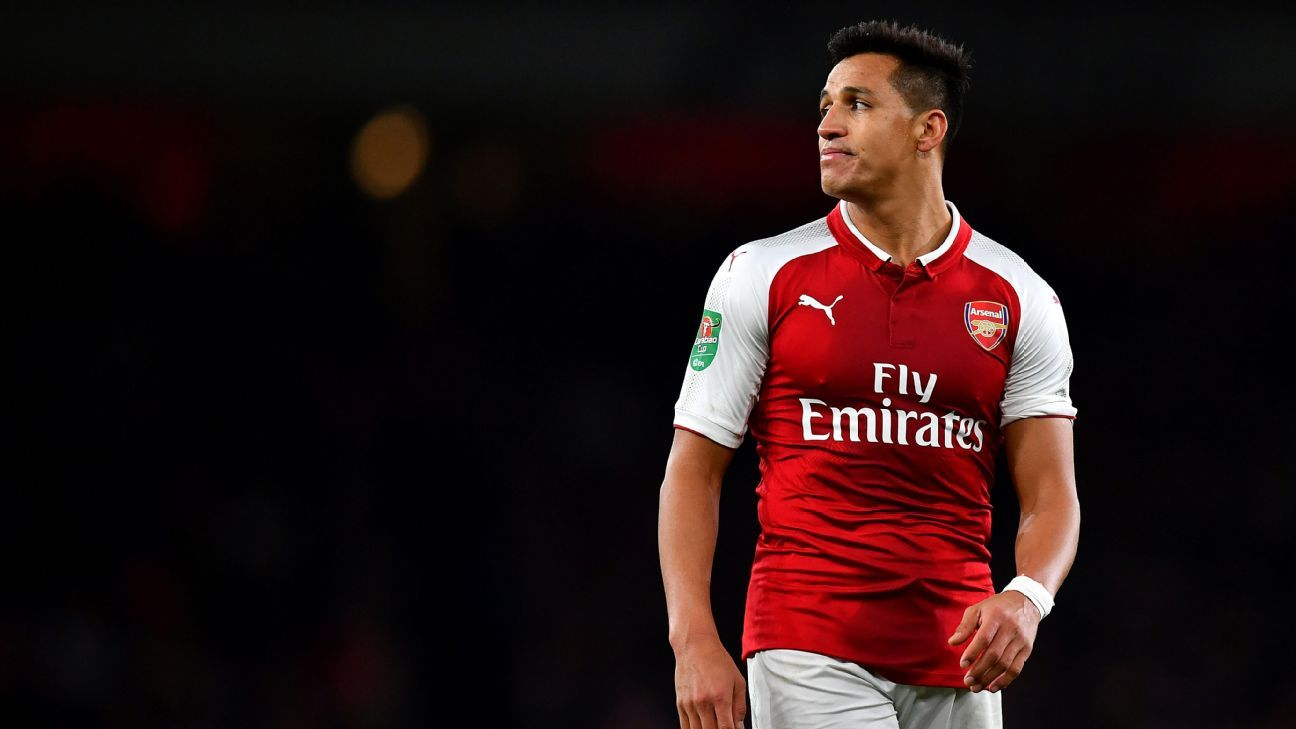 Alexis Sanchez left out of Arsenal squad as move to Man United nears