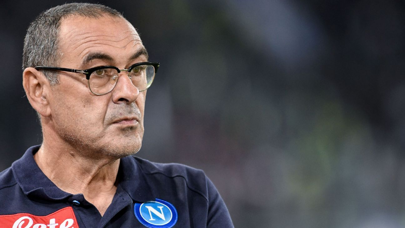 Maurizio Sarri led Napoli to second place in Serie A and a new points record.