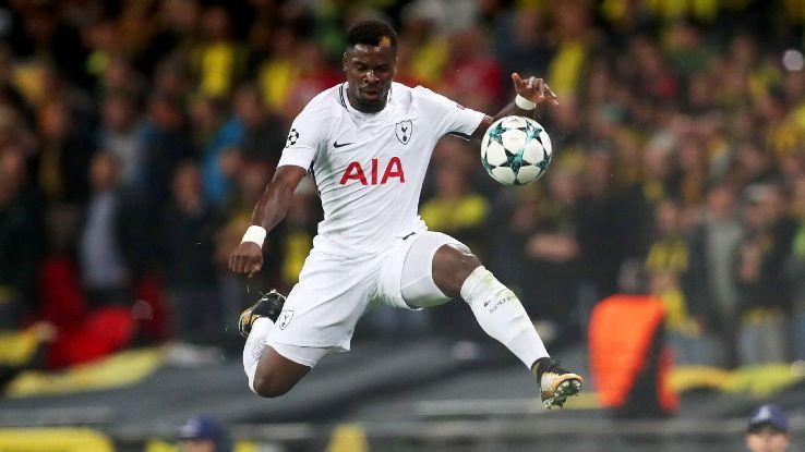 Tottenham Hotspur's Serge Aurier