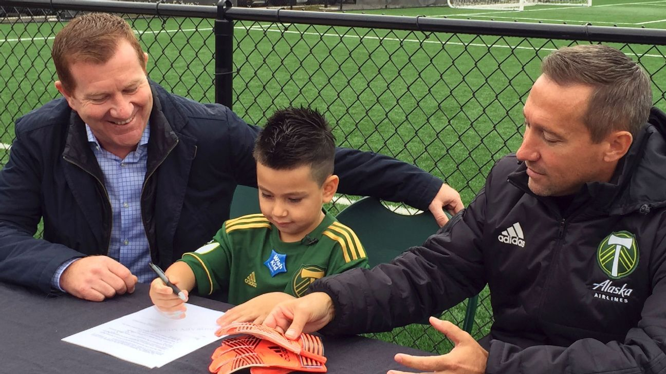 Timbers five year old keeper signs deal