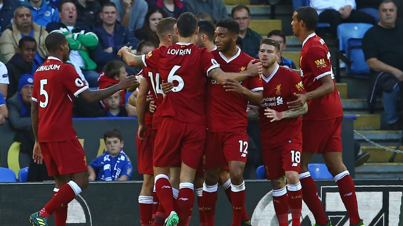 Liverpool claimed all three points at the King Power Stadium.