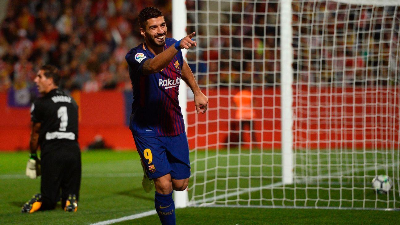 Suarez celeb vs Girona 170923