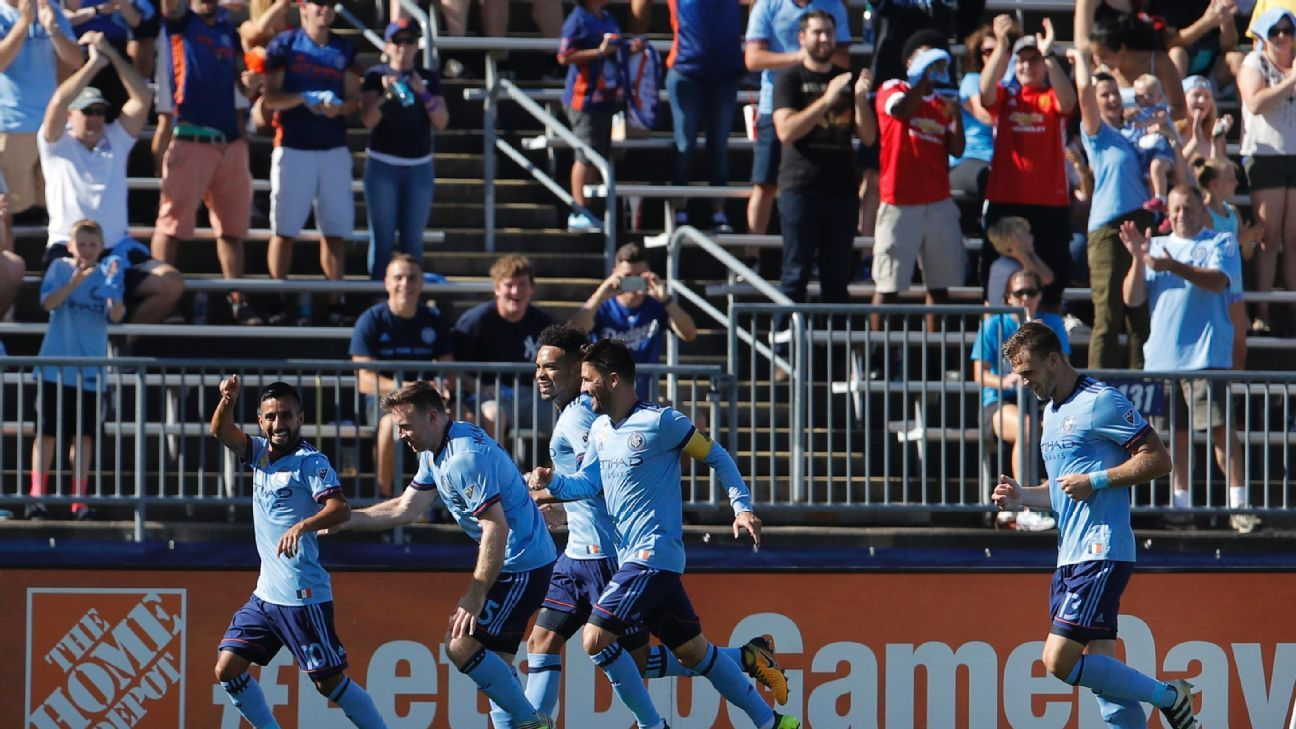 NYCFC, Houston Dynamo share draw in game moved to Connecticut