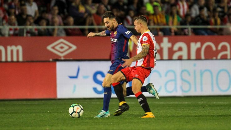 Messi action vs Girona 170923