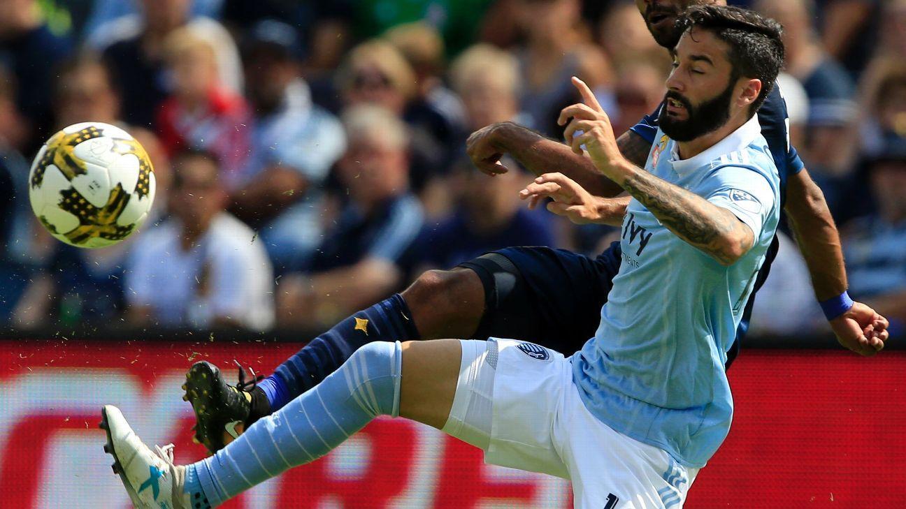 Sporting Kansas City dumps struggling LA Galaxy at home