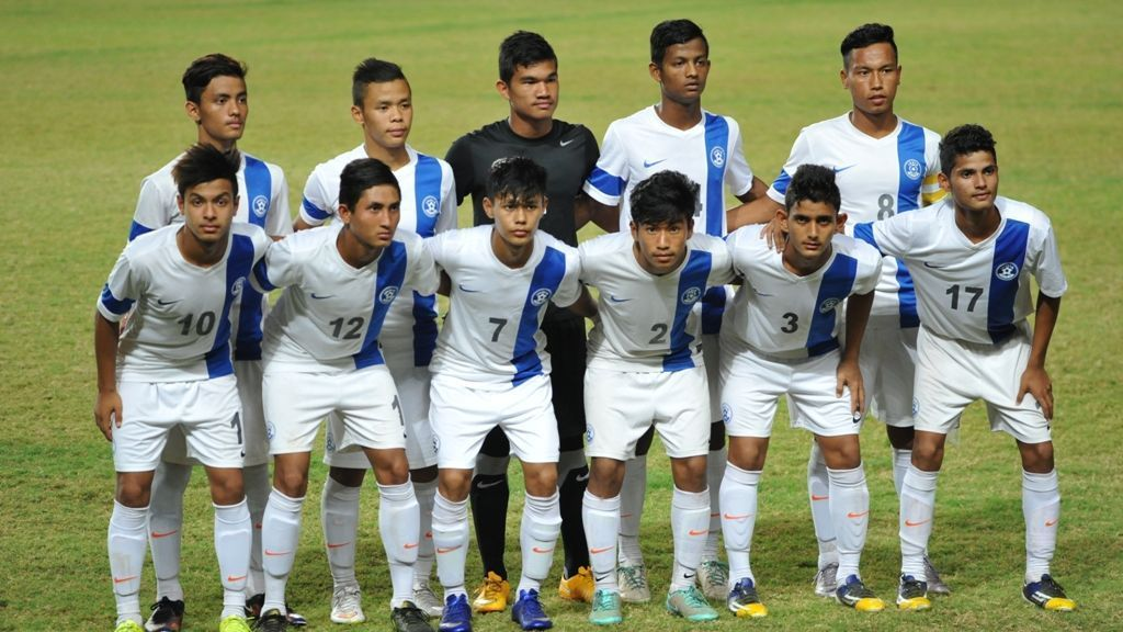 A file picture of the Indian U-17 team.