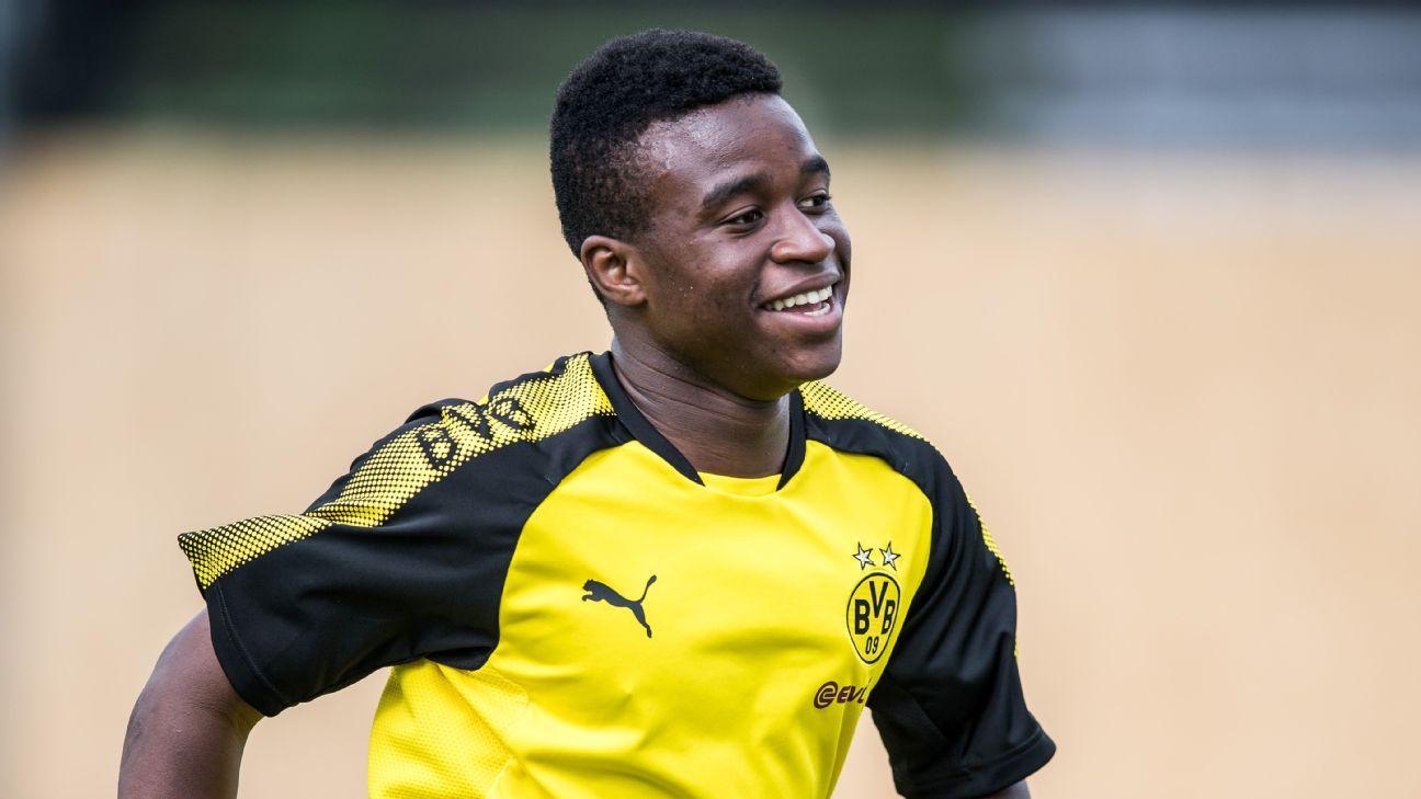 Youssoufa Moukoko had an incredible season for Borussia Dortmund under-17s.