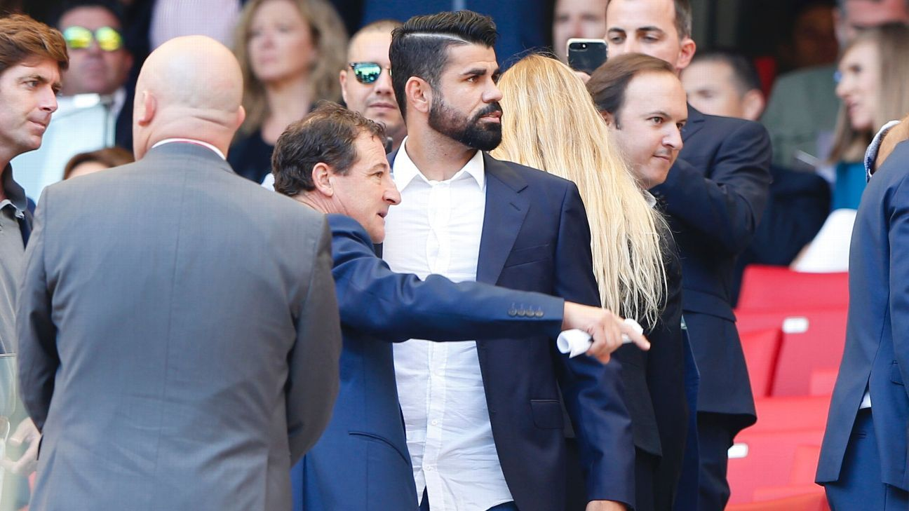 Diego Costa at Atletico game 20170923