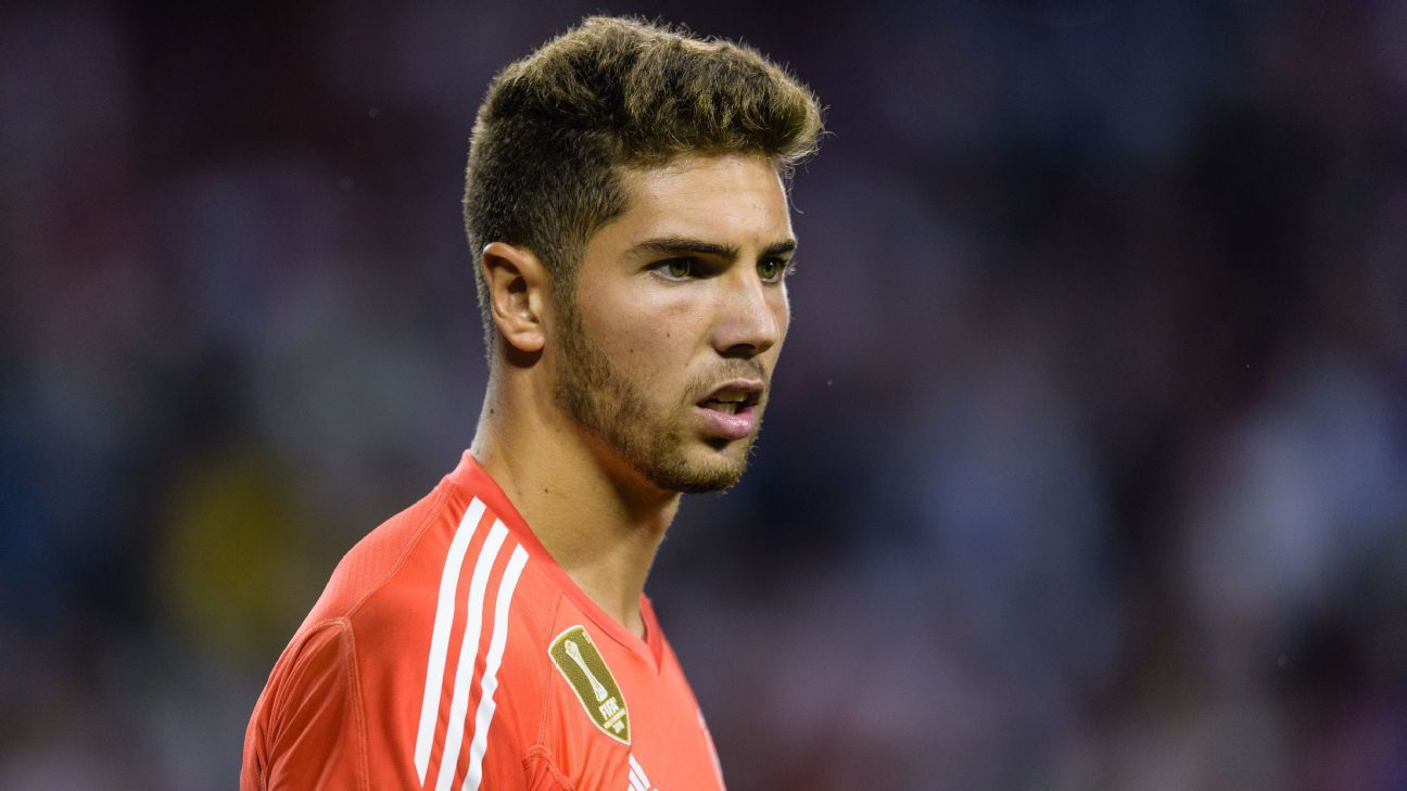 Luca Zidane Real Madrid