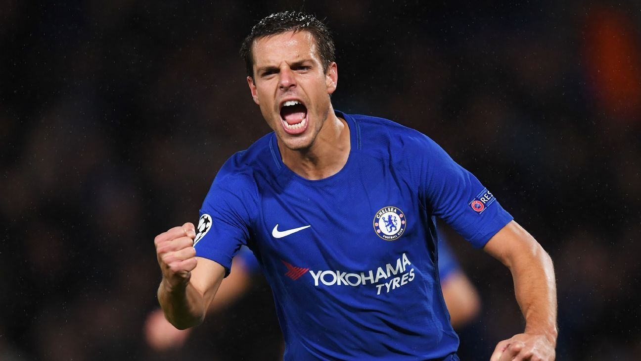 Chelsea finish Cesar Azpilicueta s run of 74 straight Premier