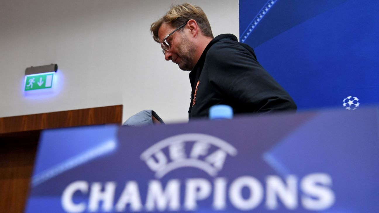 WATCH: Klopp's bizarre presser in Moscow