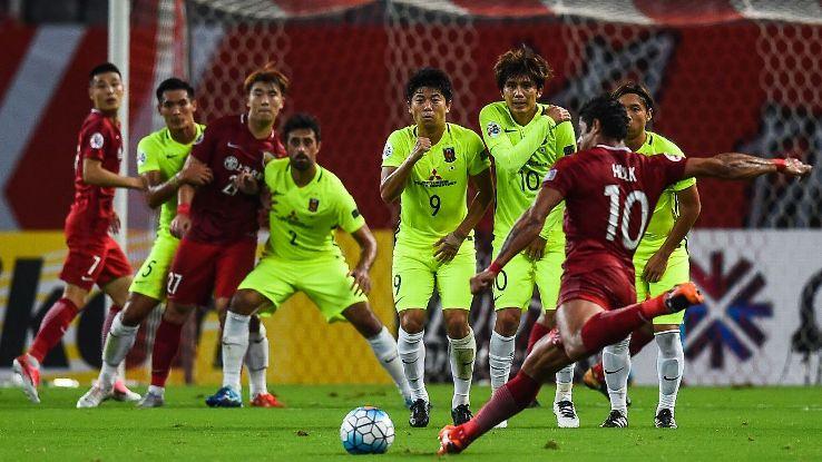 Hulk free kick for Shanghai SIPG v Urawa