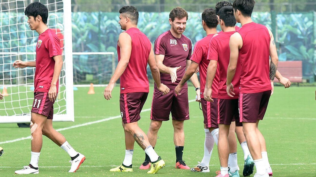 Andre Villas-Boas of Shanghai SIPG