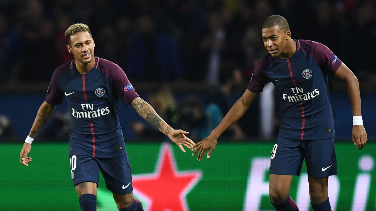 Neymar and Kylian Mbappe's job is to make PSG contenders in the Champions League.