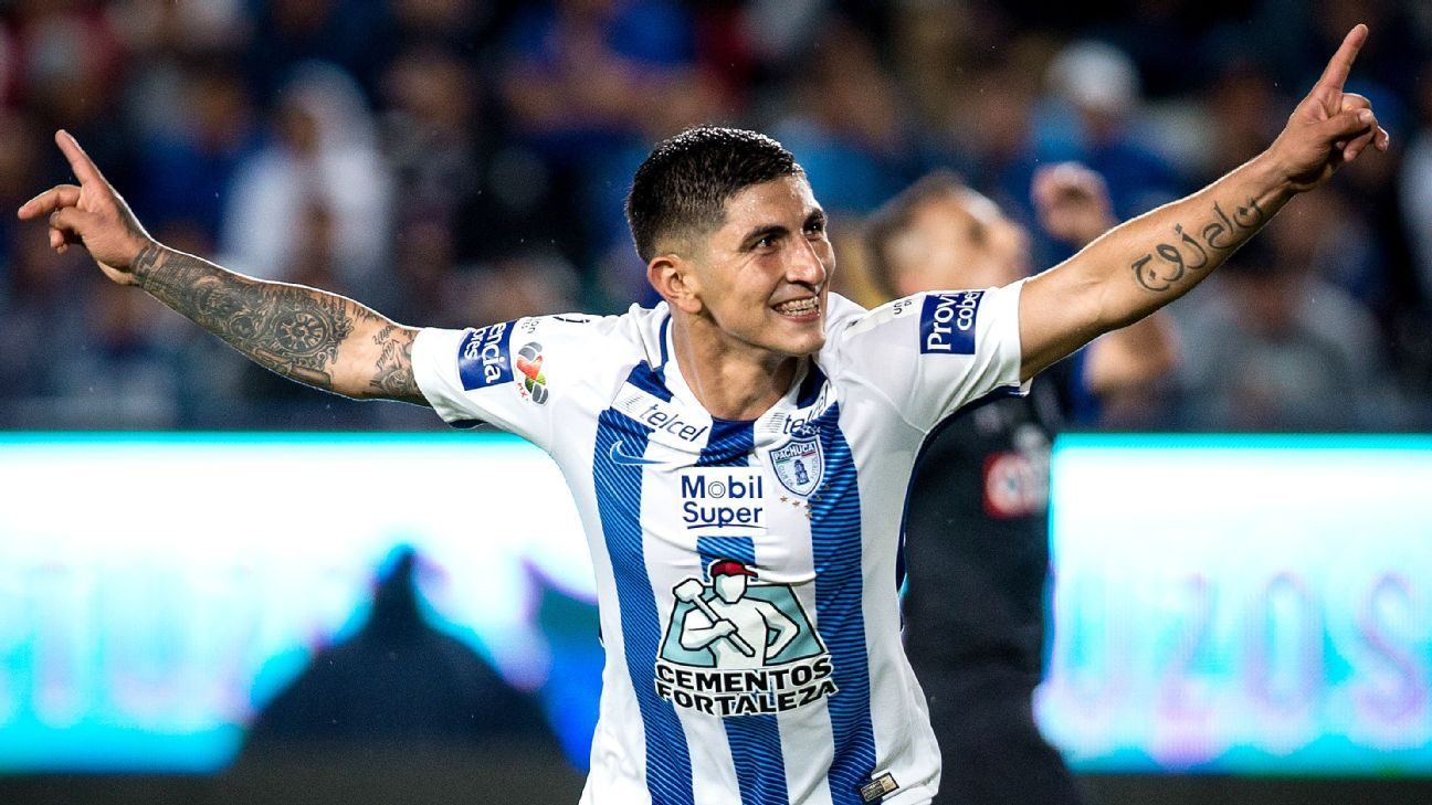Victor Guzman has been the one bright spot during an underachieving season for Pachuca.