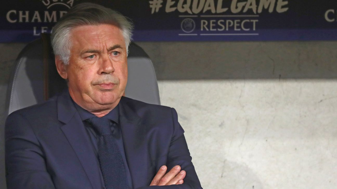 Carlo Ancelotti has been without a job since September 2017.