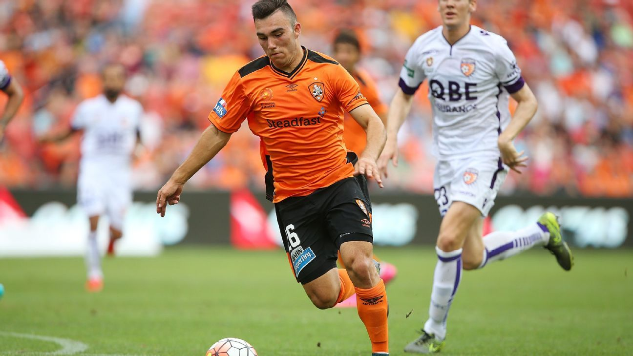 Nick D'Agostino of Brisbane Roar
