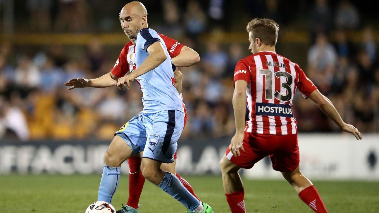 Adrian Mierzejewski, of Sydney FC