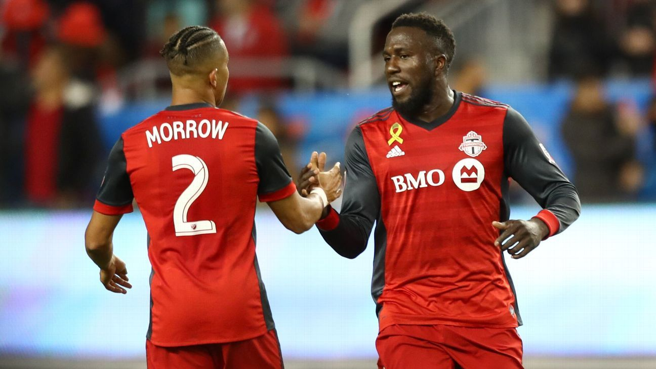 Toronto FC defeats Red Bulls to seal MLS Supporters' Shield for best record